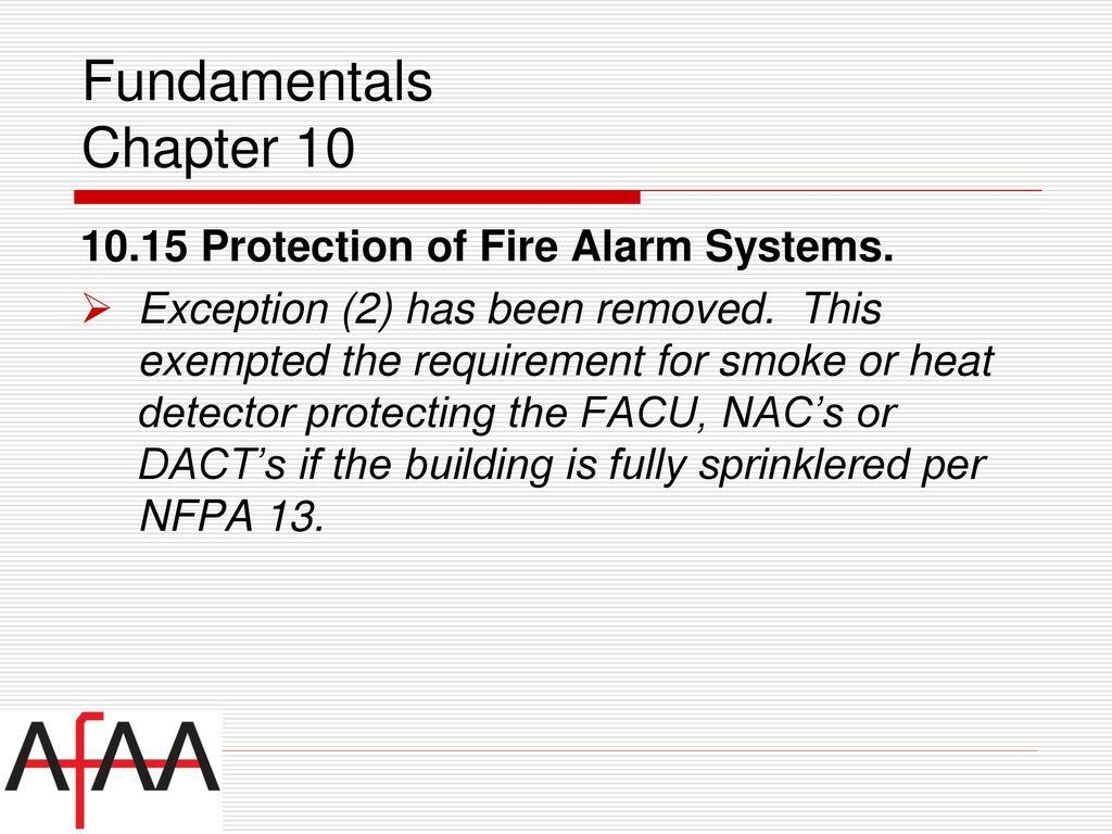 Nfpa National Fire Alarm Signaling Code Ppt Download Dact Wiring Diagram 18 Fundamentals