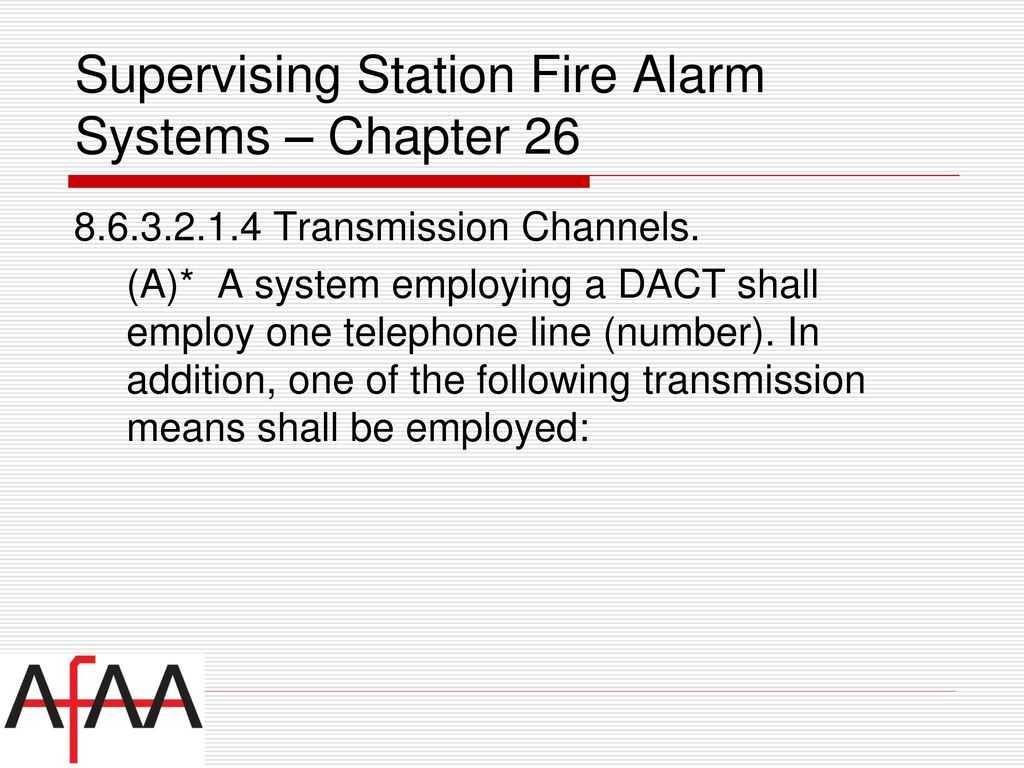 Nfpa National Fire Alarm Signaling Code Ppt Download Dact Wiring Diagram 70 Supervising