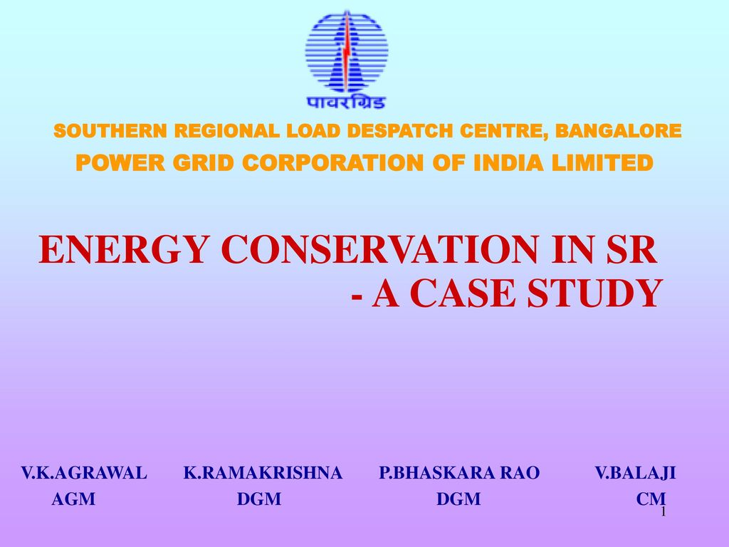 case study on energy conservation in india