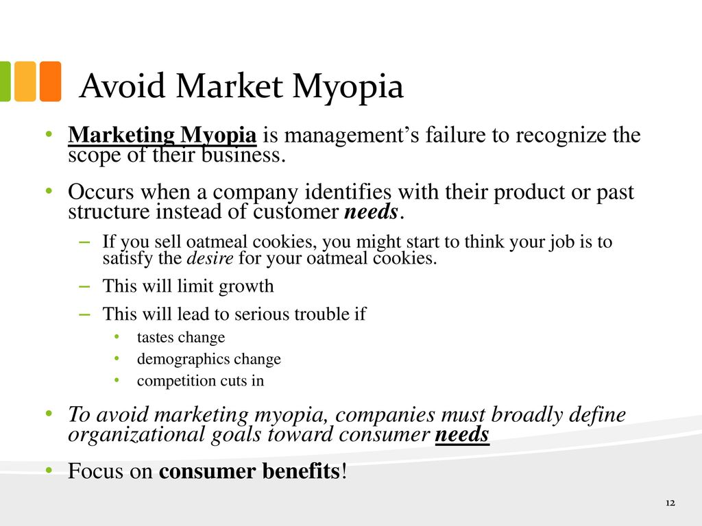 marketing myopia case study