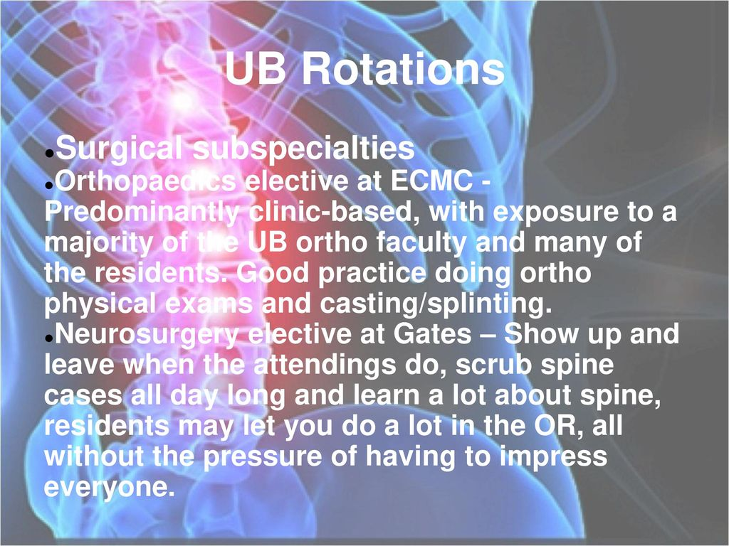 Applying For Orthopaedics - ppt download