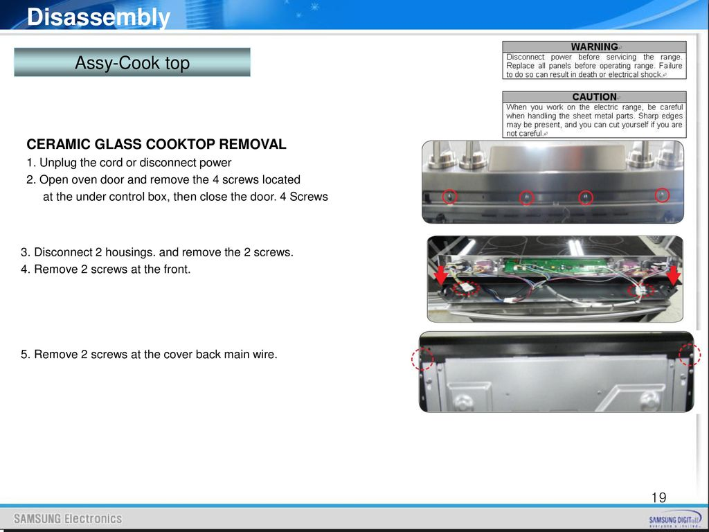 Nef900 Series Training Kitchen Solution Team Ppt Download. Wiring. 2 Pin Quick Disconnect Wire Harness Oven At Scoala.co