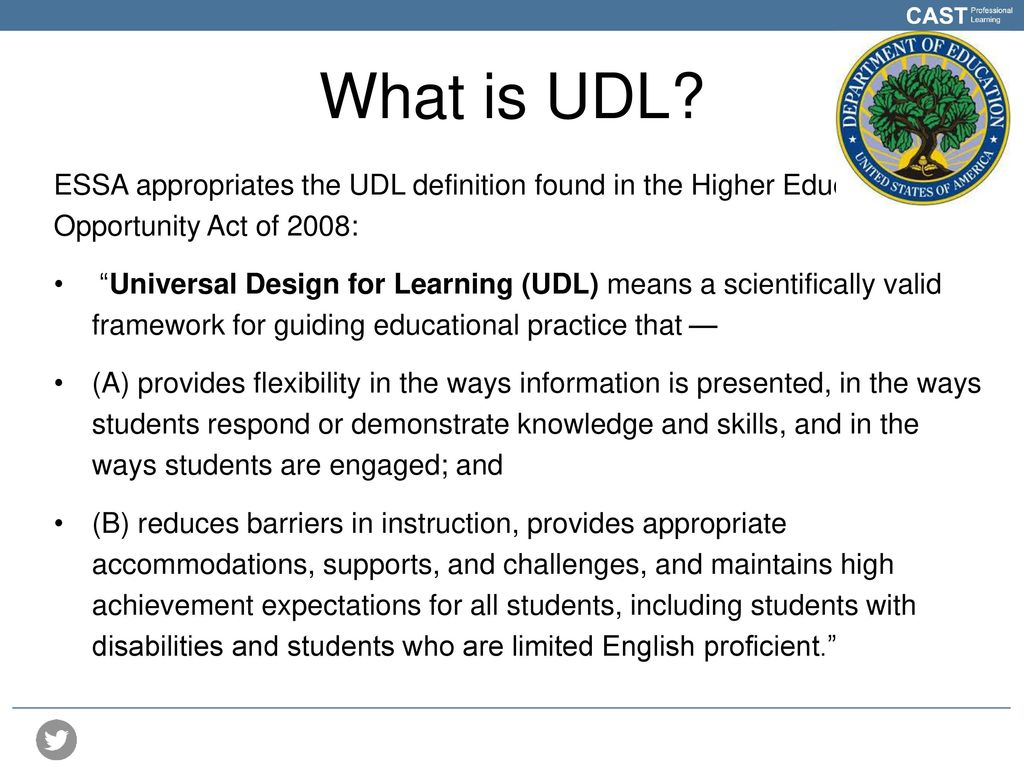 Universal Design For Learning Ppt Download