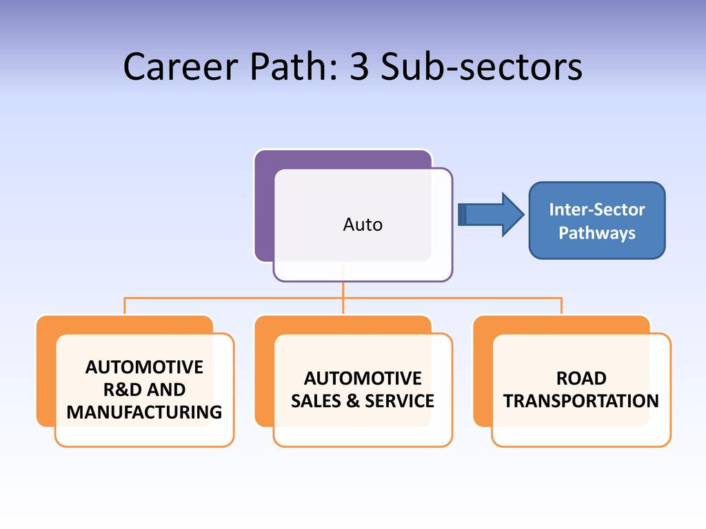 Career Paths Automotive Sector Ppt Download