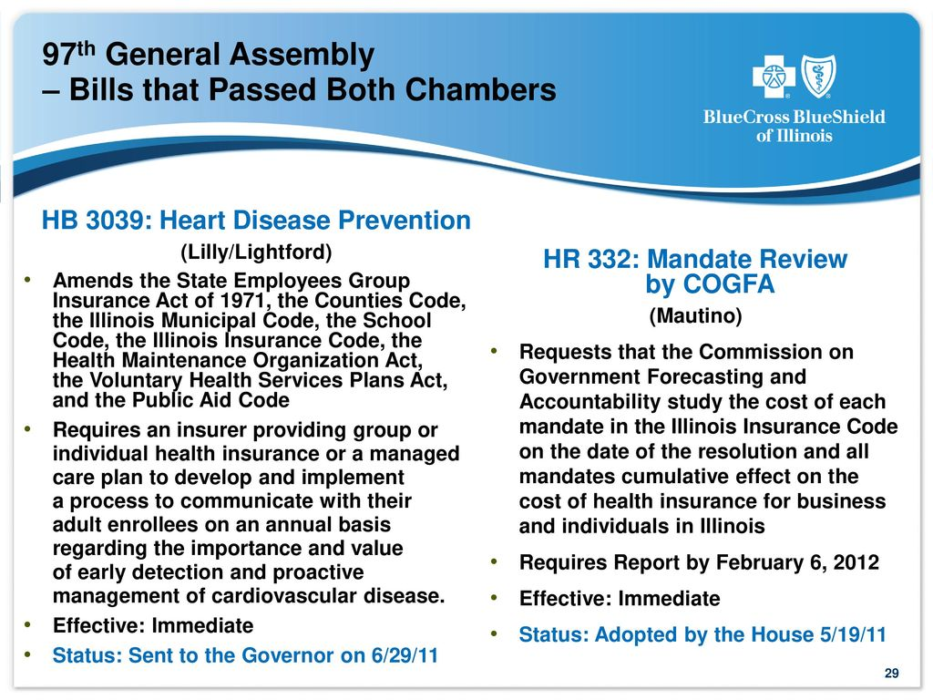 2011 Blue Cross and Blue Shield of Illinois  All rights
