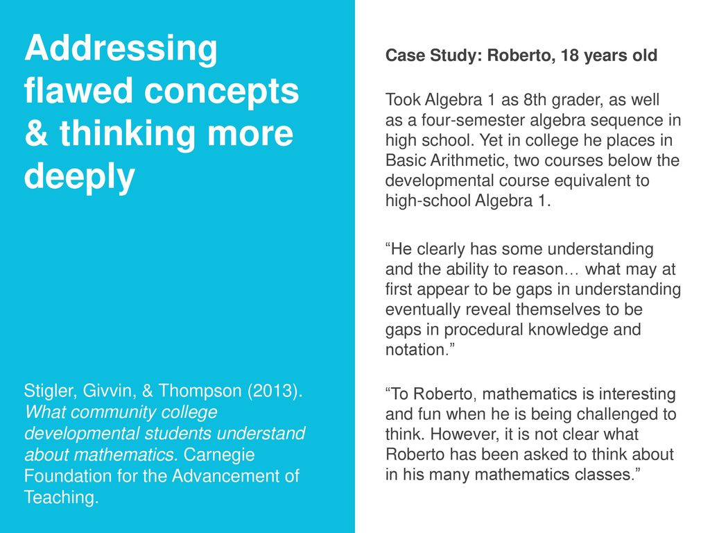 Math Pathways in the Context of College Redesign - ppt download