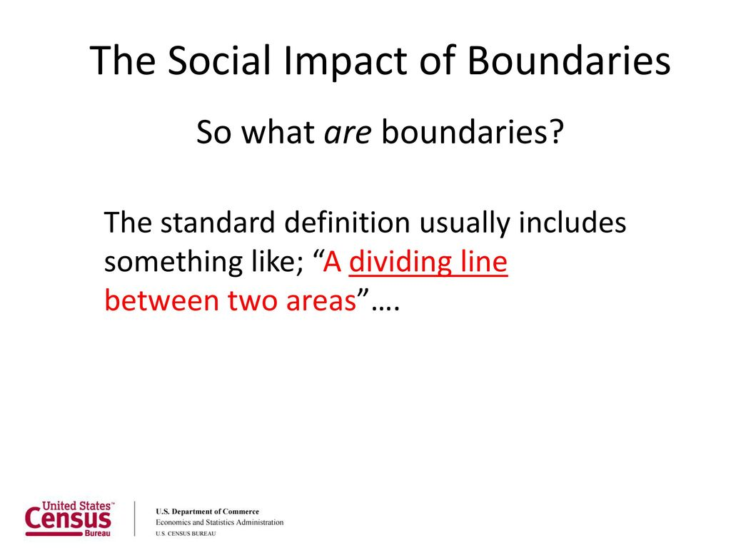 the social impact of boundaries - ppt download