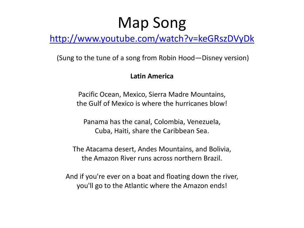 Latin America Map Song.Geography Of Latin America Ppt Download