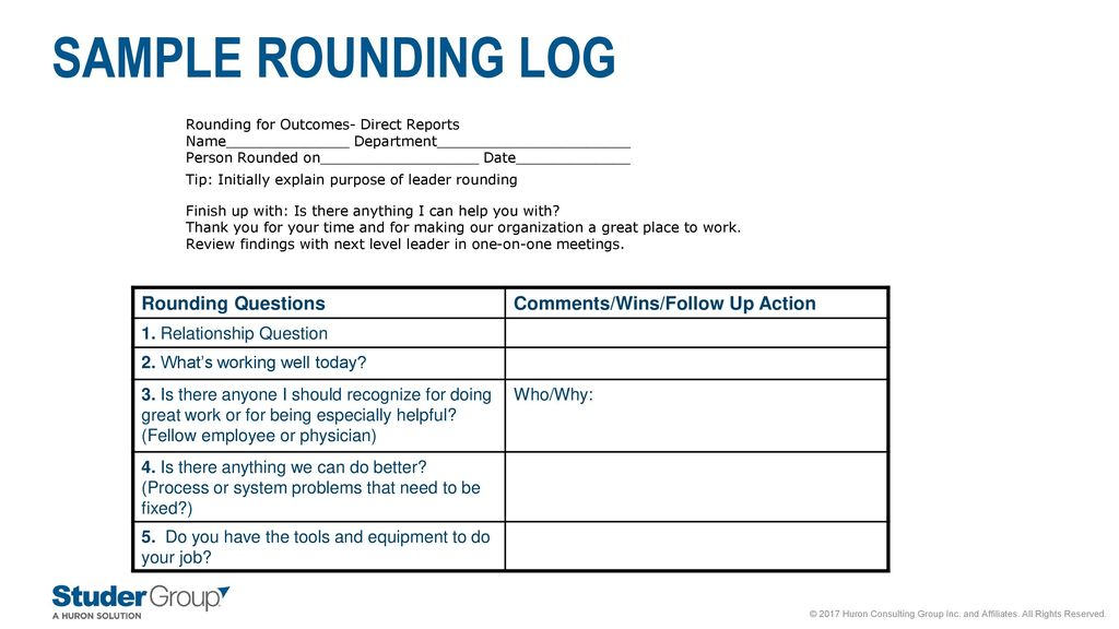 The missing ingredient in sustainability employee engagement ppt sample rounding log rounding questions commentswinsfollow up action maxwellsz