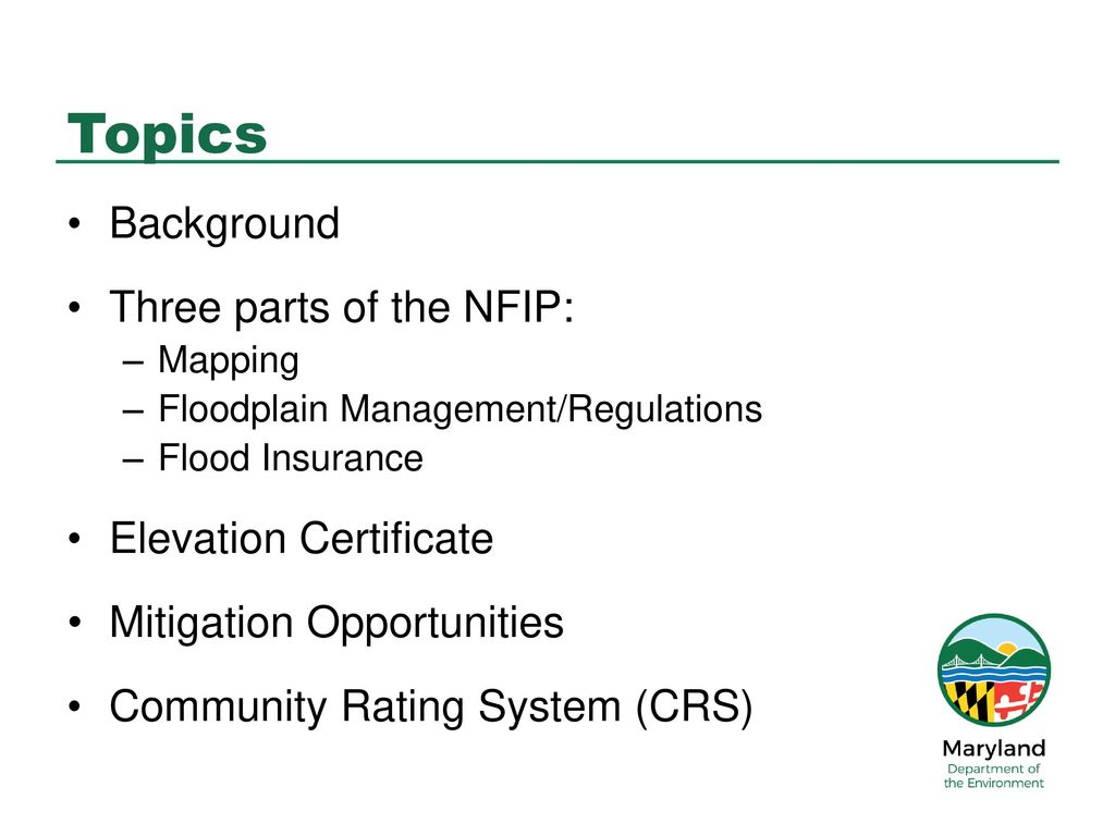Prince Georges County Flood Forum March 23 Ppt Download