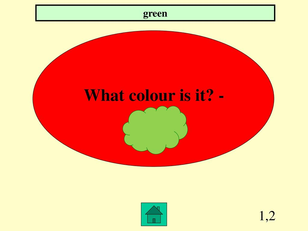 Game about colours, numbers, school objects and toys - ppt