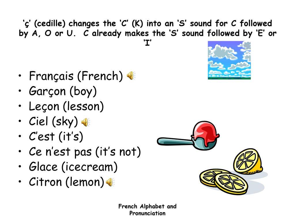 French Alphabet & Pronunciation - ppt download