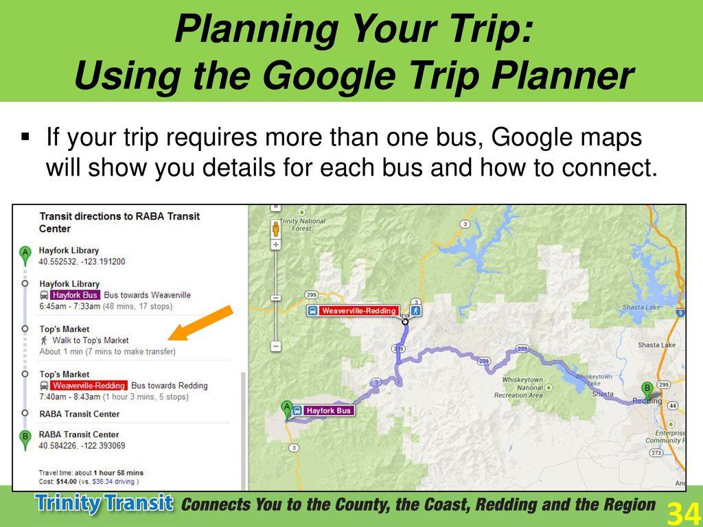Your Route To Safe Independent Economical Transportation Ppt - Trip maker google maps