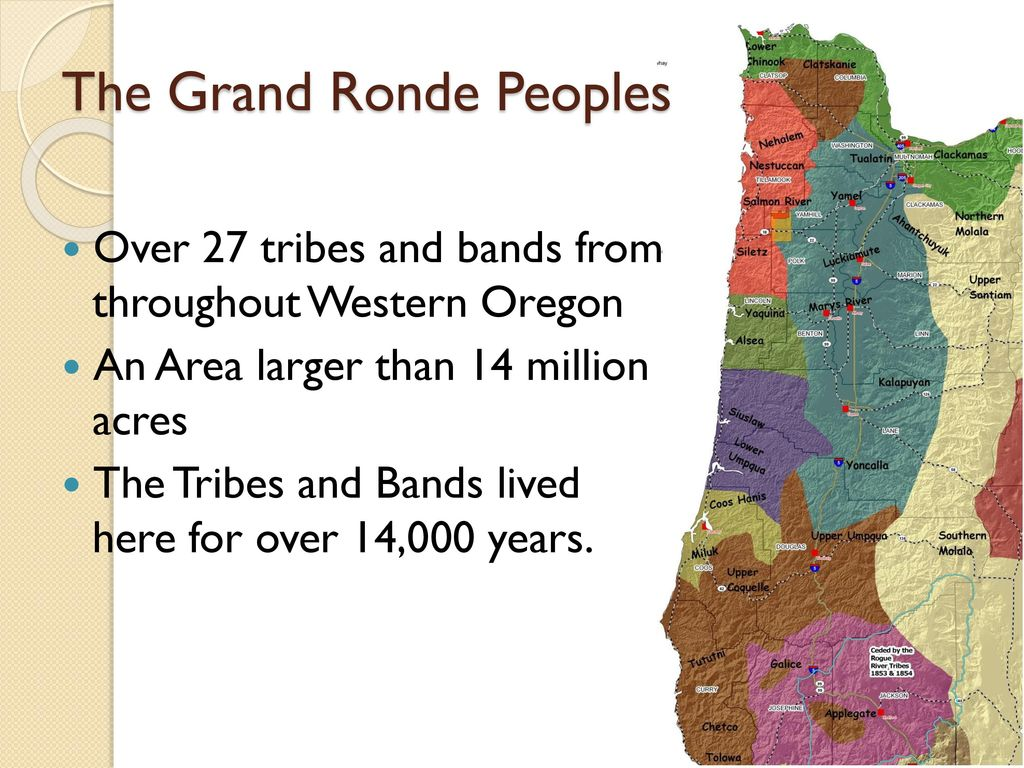 History and Historical Questions of the Grand Ronde Tribe