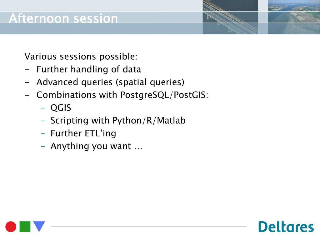 Installing PostgreSQL/PostGIS Loading data manually - ppt