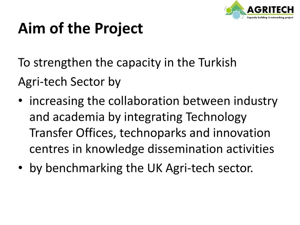 Agri-tech Networking & Partnership - ppt video online download