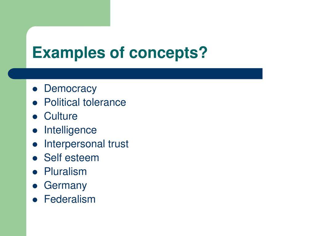 examples of cultural tolerance