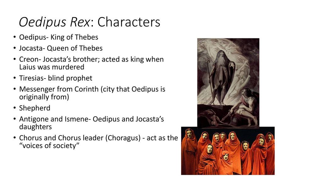 "characterization of oedipus in sophocles oedipus rex The play ""oedipus rex"" was written by an ancient greek playwright named sophocles sophocles is known for his compelling tragedies and well-rounded characters the protagonist of sophocles' play ""oedipus rex"" is an honorable man however, chooses to lead a."