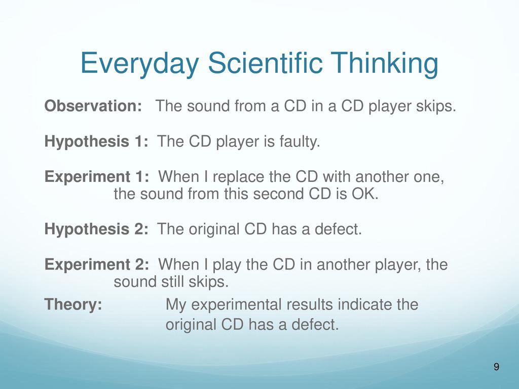 Scientific Investigation - ppt download
