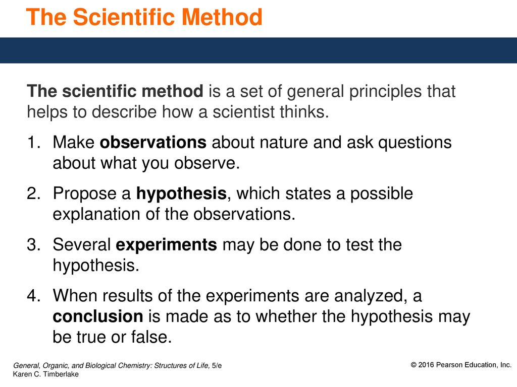 1.2 scientific method thinking like a scientist - ppt download