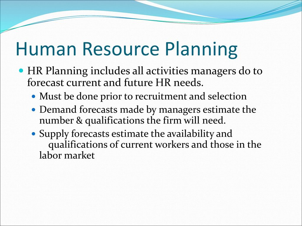 recruitment and selection process in human resource management