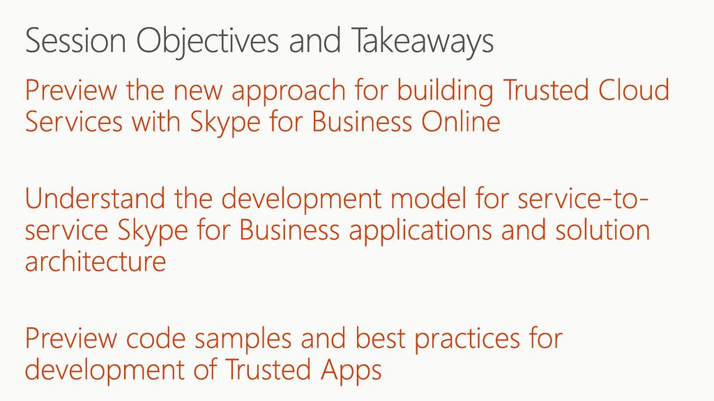 Microsoft /20/2017 1:00 PM BRK4013 Dive Deep with the New Trusted