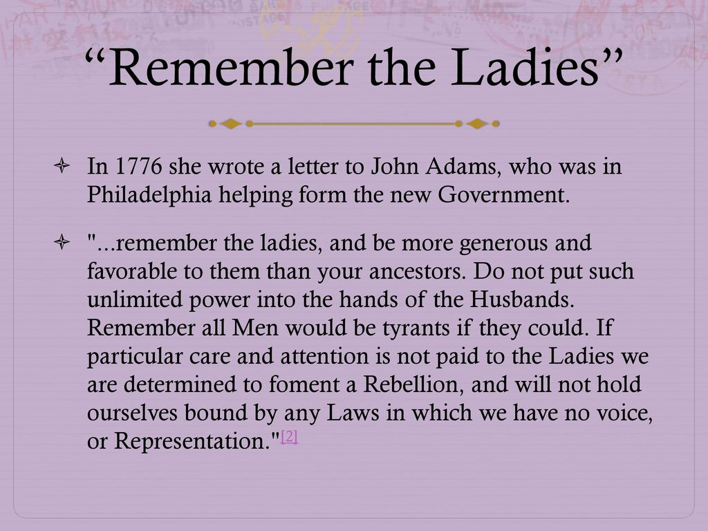 The American Revolution as Women s Work ppt