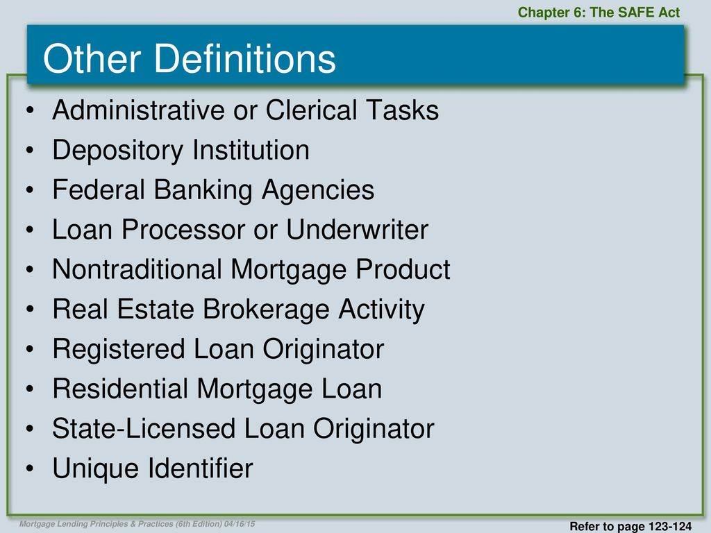 11 Other Definitions Administrative ...