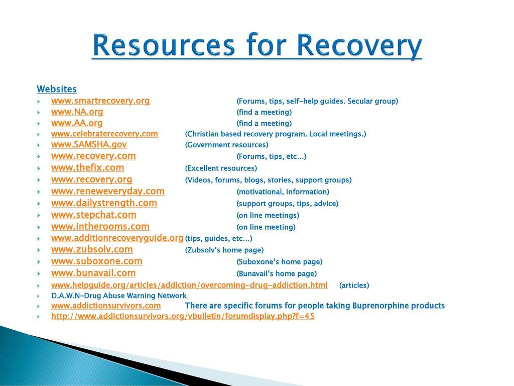 Workbooks celebrate recovery workbook : New Patient Orientation - ppt download