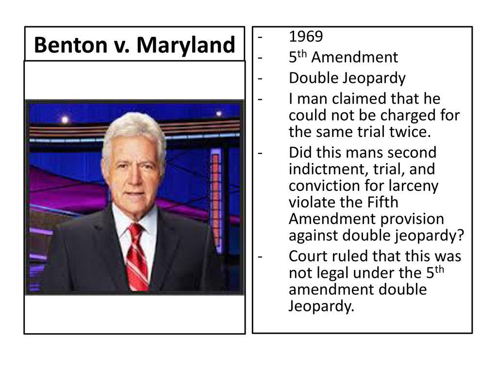 Maryland Th Amendment Double Jeopardy