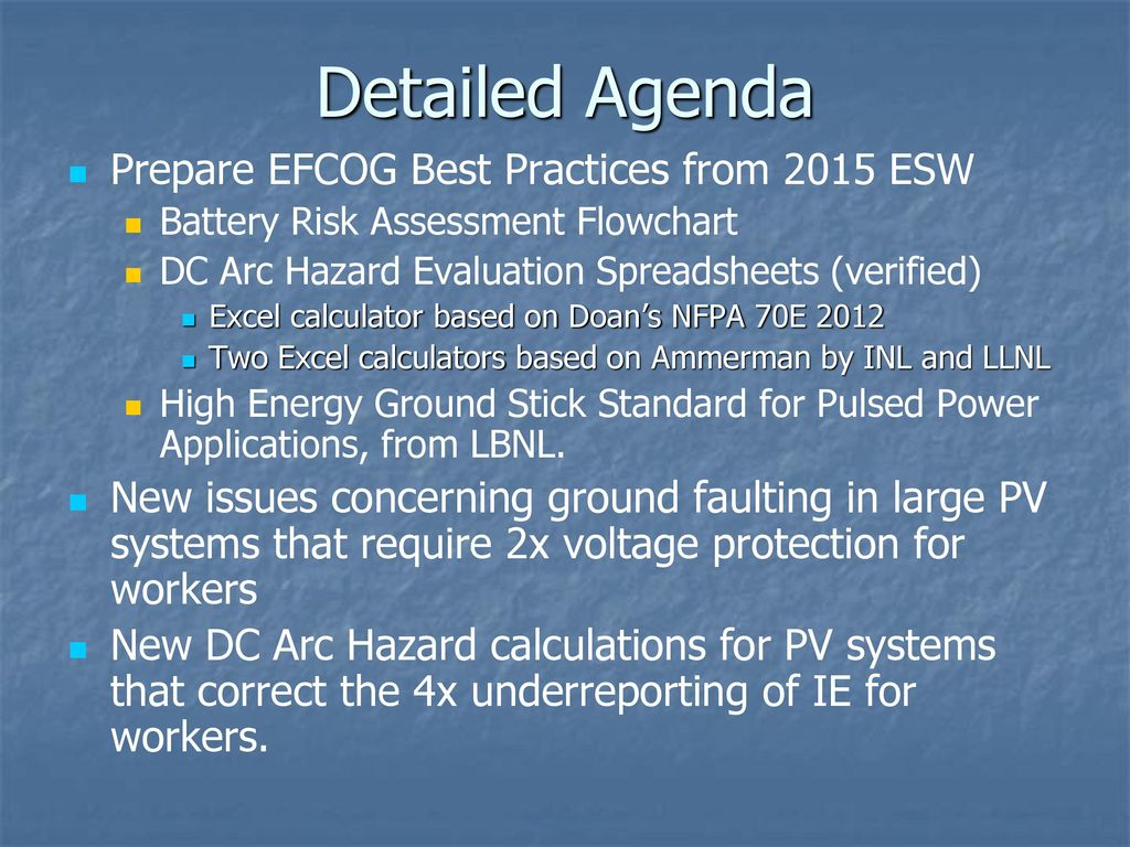 DC Systems Working Group - ppt download