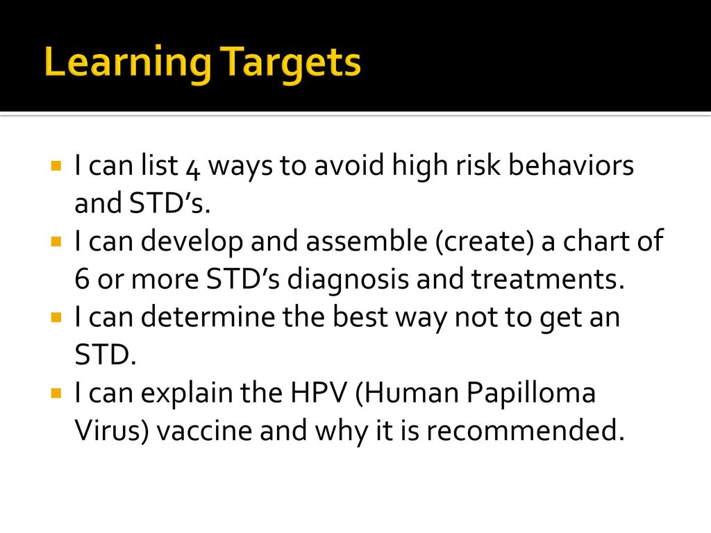 sexually transmitted diseases sexually transmitted infections - ppt
