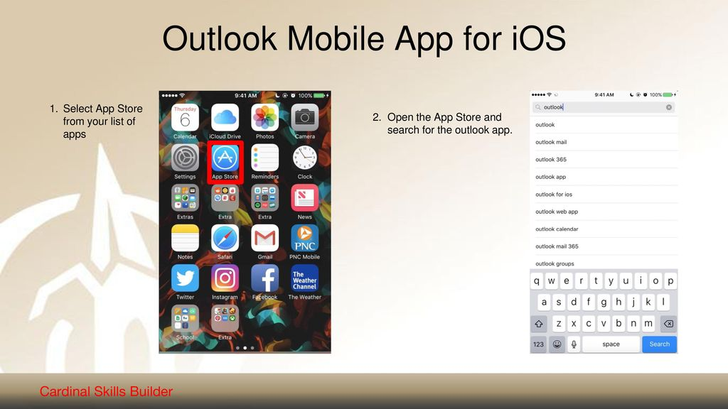 Outlook Mobile App for iOS - ppt download