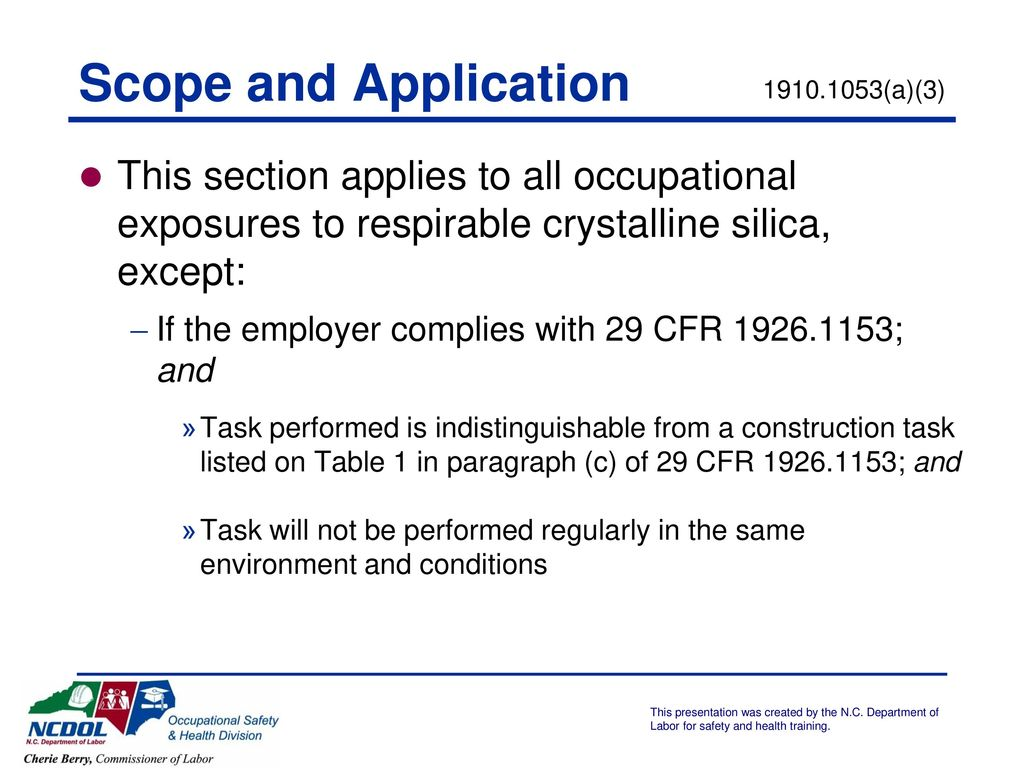 Respirable Crystalline Silica - ppt download