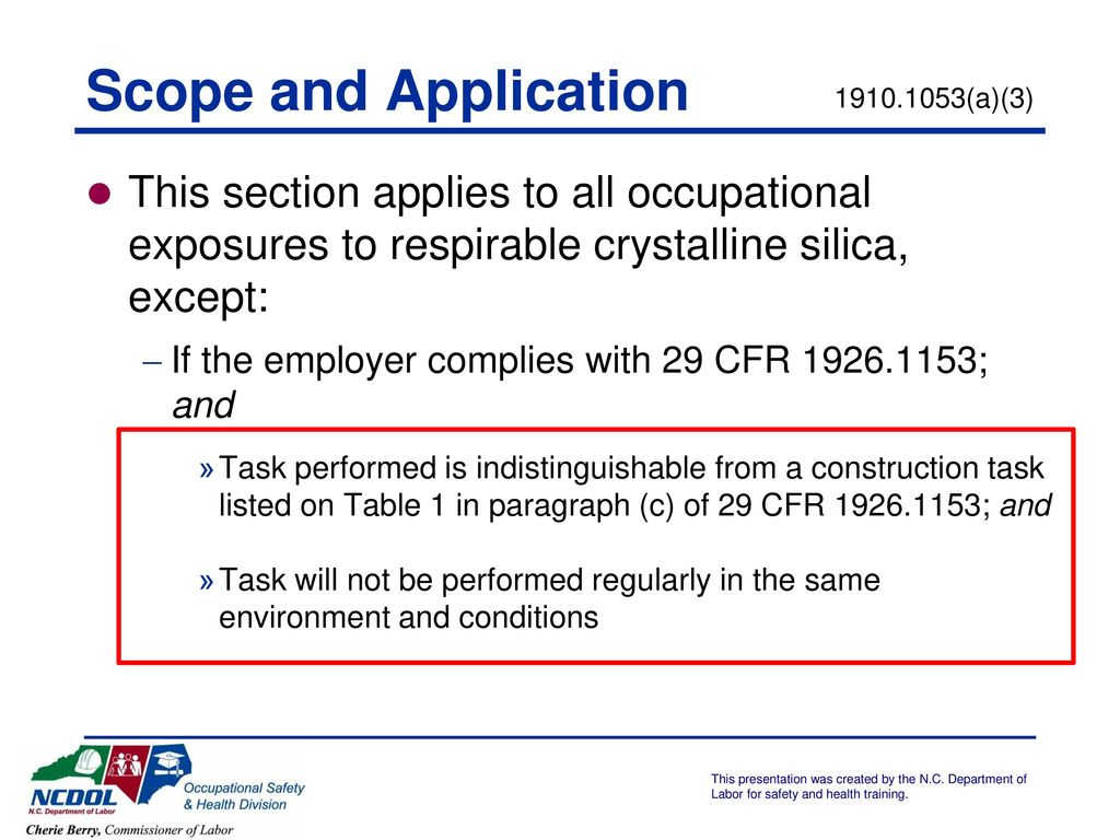respirable crystalline federal register - HD1024×768