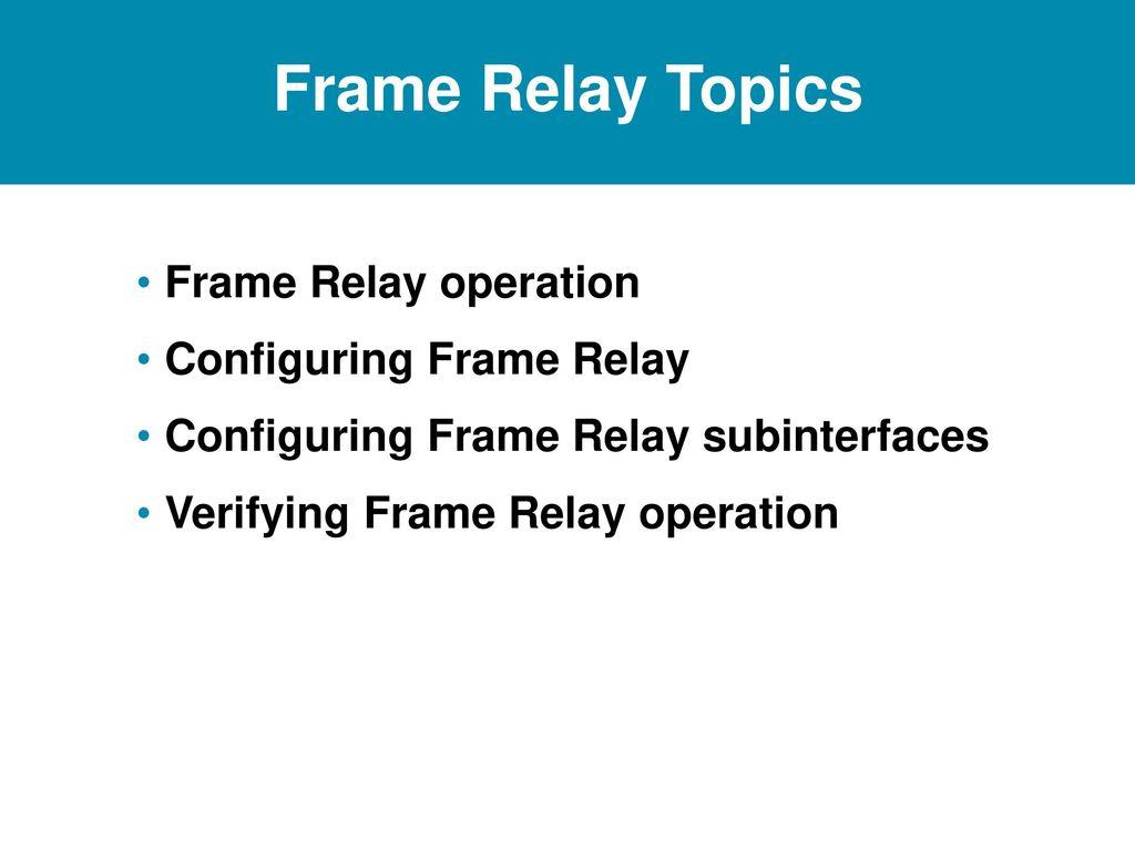 Modern Ccna Frame Relay Questions Crest - Framed Art Ideas ...