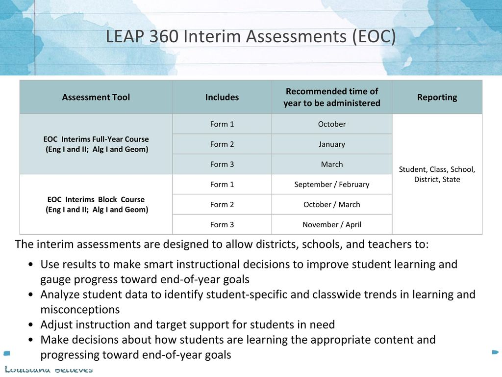 LEAP 360 Interim Preview Spring ppt video online download