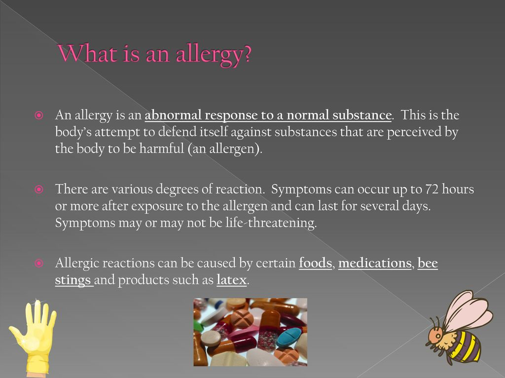 Allergy Awareness Epipen Use Ppt Download