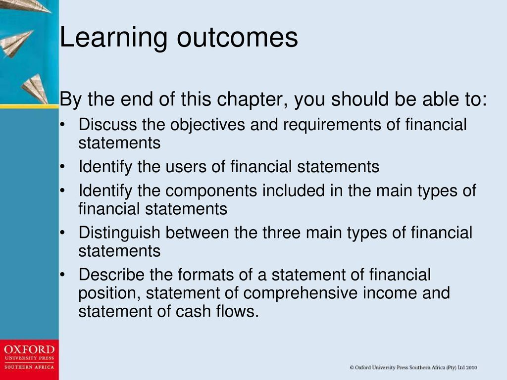CHAPTER 2 FINANCIAL STATEMENTS  - ppt download
