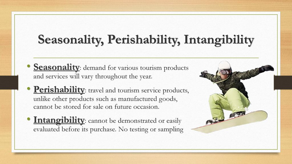 intangibility in tourism