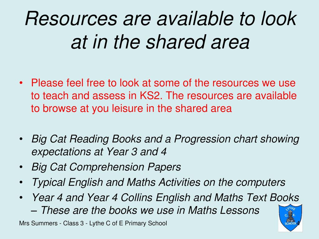 Class 3 English and Maths Information for Parents - ppt download