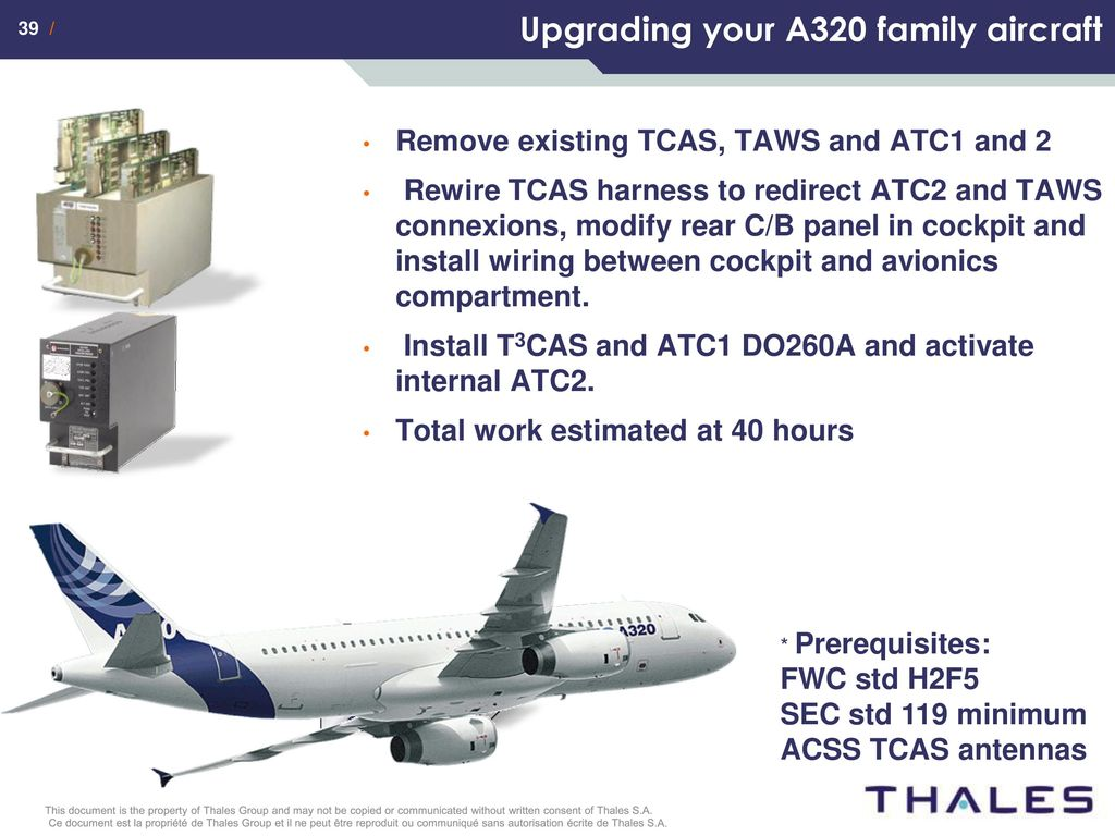 Ads B Avionics Solutions Ppt Download A320 Wiring Harness 38 Upgrading Your Existing Aircraft To T3cas