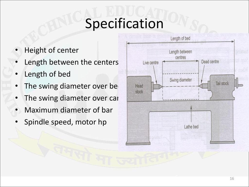 Unit 4 Machine Tools Machine Tools Basic Elements Working Principle Ppt Download