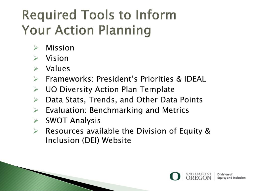 Diversity Action Planning - ppt download