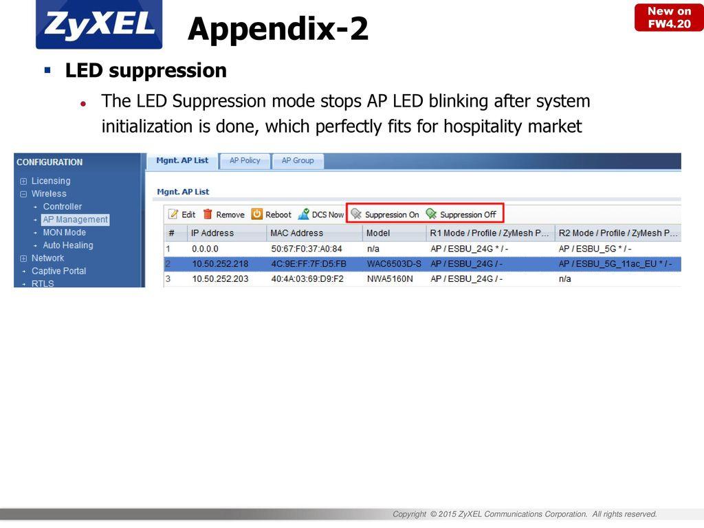 NXC Series Wireless LAN Controller Sales Kit - ppt download