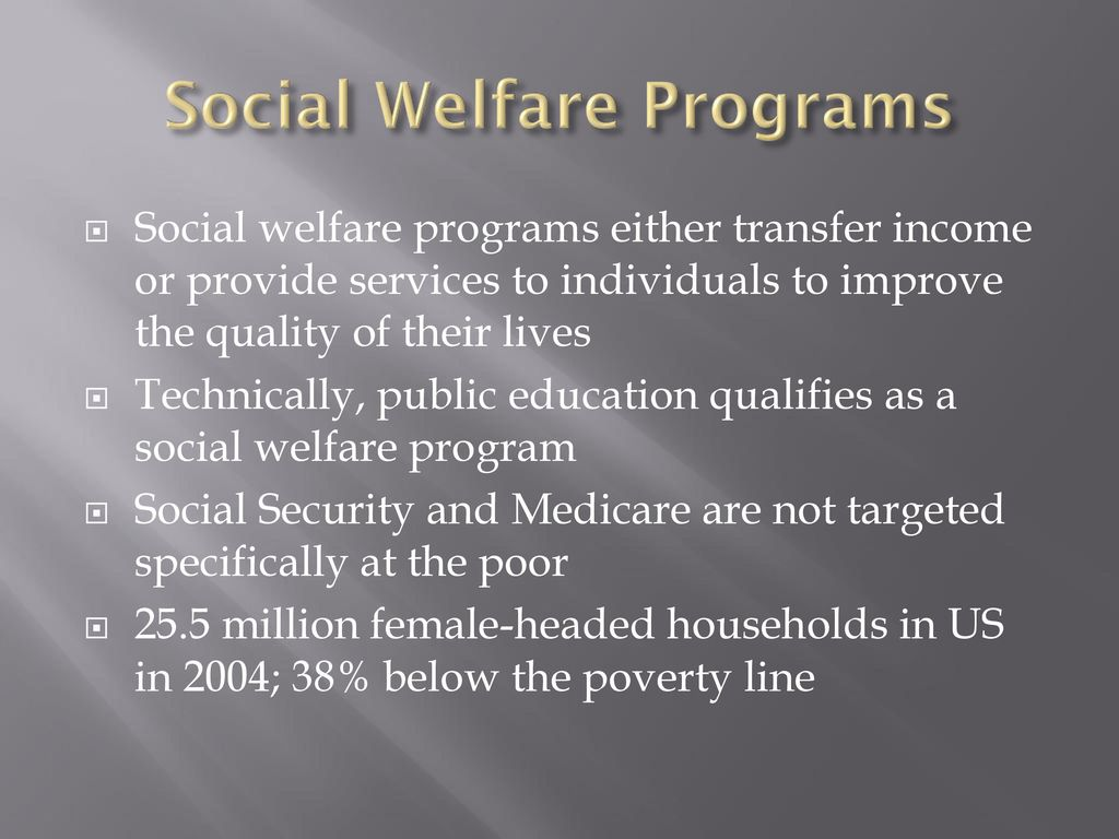 Welfare Policy Ppt Download