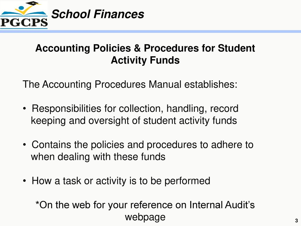 accounting policies An accounting practice is intended to enforce a firm's accounting guidelines and policies it exists as the daily recording of financial data that is important to the evaluation and monitoring of.