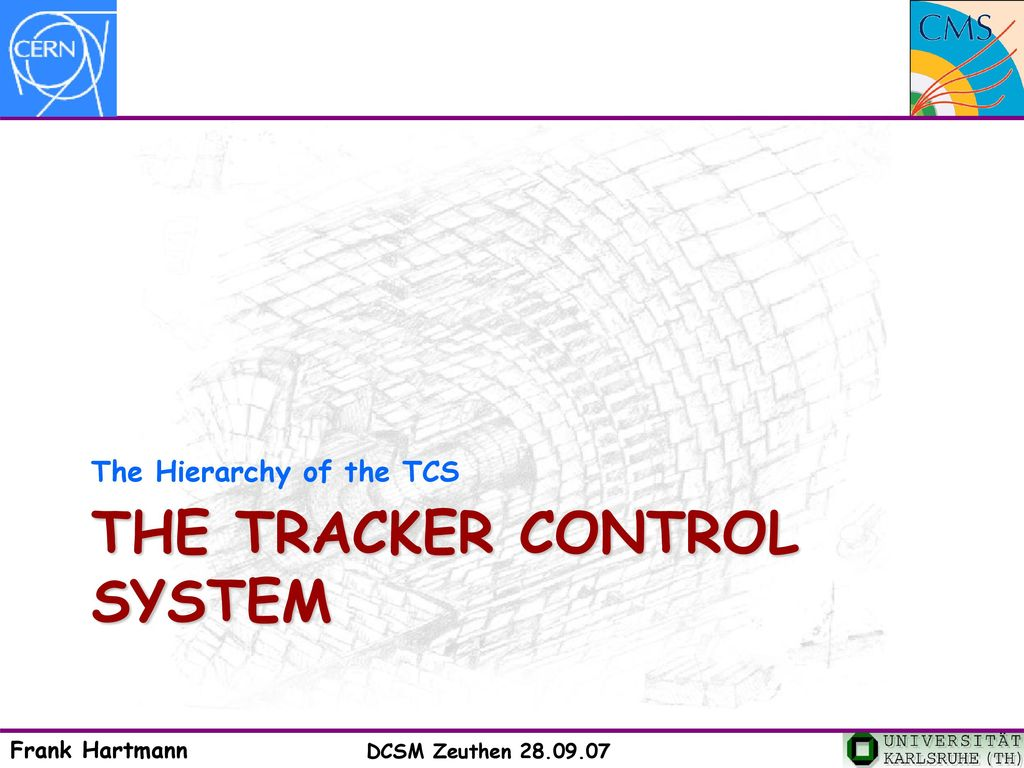 Tracker Control System – TCS & Tracker Safety System – TSS