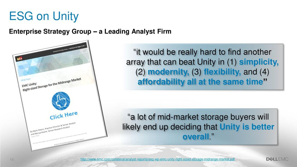 MODERNIZE AND SIMPLIFY WITH UNITY ALL-FLASH - ppt download