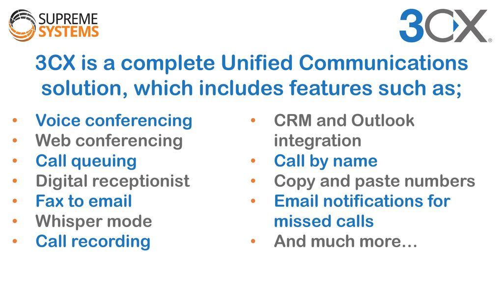 Latest Generation VOIP Communications PARTNER  - ppt download